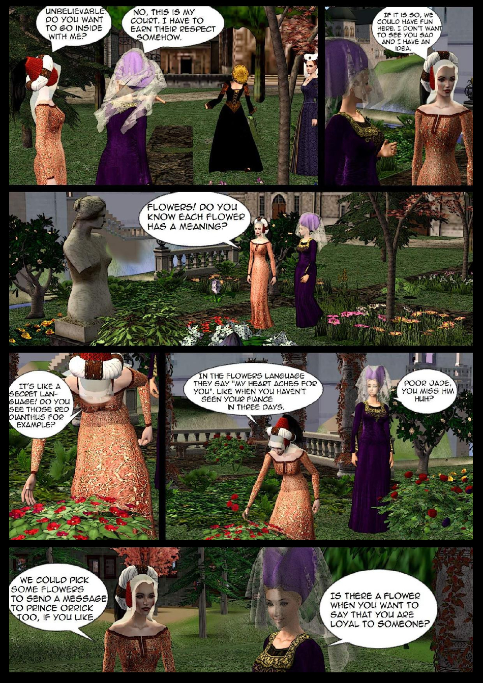 The flower language p11