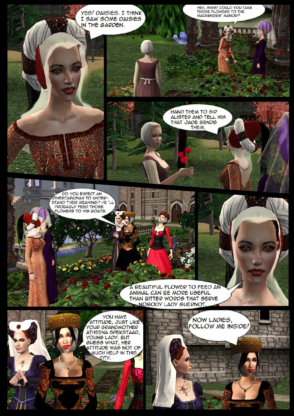 The flower language p12